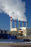 stacja energii elektrycznej Fotografia Royalty Free