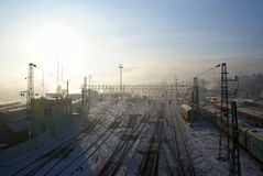 stacja kolejowa Obraz Stock