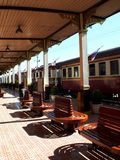 stacja kolejowa Zdjęcie Stock