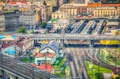 stacja kolejowa Zdjęcie Royalty Free