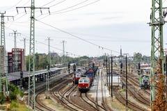 stacja kolejowa zdjęcia stock