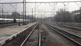 stacja kolejowa Zdjęcia Royalty Free