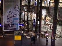 Stacja kolejowa Berlin from inside Zdjęcia Royalty Free