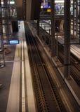 Stacja kolejowa Berlin from inside Obrazy Stock