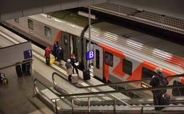 Stacja kolejowa Berlin from inside Zdjęcie Royalty Free