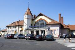 Stacja kolejowa budynek w Kolobrzeg w Polska Obraz Stock