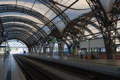 stacja kolejowa dresden Fotografia Stock
