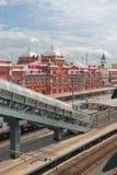 Stacja kolejowa Kazan-1 Tatarstan, Rosja Zdjęcie Stock