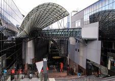 Stacja kolejowa Kyoto, Japonia Zdjęcie Royalty Free