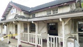 Stacja kolejowa na Tajwańskiej Kolejowej administraci TRA Weste Zdjęcie Royalty Free