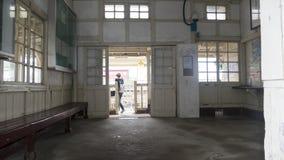 Stacja kolejowa na Tajwańskiej Kolejowej administraci TRA Weste Obrazy Royalty Free