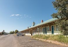 Stacja kolejowa w Estcourt w Natal prowinci Fotografia Stock