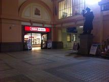 Stacja kolejowa w Pilsen obrazy stock