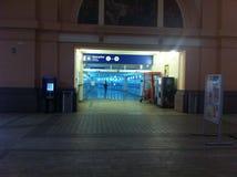 Stacja kolejowa w Pilsen zdjęcia royalty free