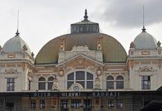Stacja kolejowa w Plzen Obrazy Stock