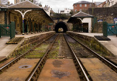 stacja kolejowa wiktoriański Zdjęcia Royalty Free