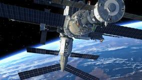 Stacja Kosmiczna ilustracji