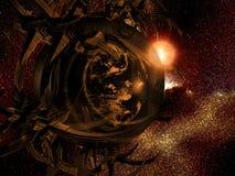 Stacja Kosmiczna - ziemia Zdjęcia Stock