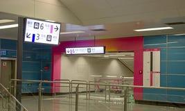 Stacja metru zdjęcia stock