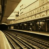 Stacja Metru Zdjęcia Royalty Free