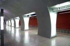 Stacja metru Budapest obrazy royalty free