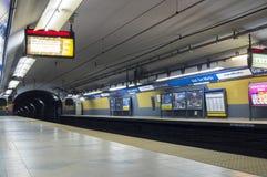Stacja metru, buenos aires, Argentina Zdjęcie Stock