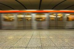 Stacja Metru metro przy Ateny, Grecja, - Zdjęcie Royalty Free