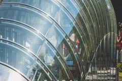 Stacja metru w mieście Bilbao, Hiszpania Zdjęcie Stock