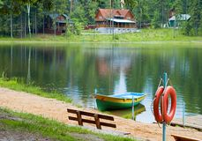 stacja na łodzi Zdjęcia Stock