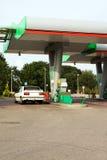 stacja paliwowa obrazy stock