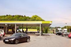 stacja paliwowa Obrazy Royalty Free
