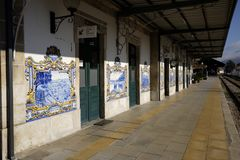 Stacja pinhao characteristic kraj Obrazy Stock