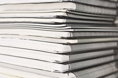 Stack_1. Big stack of papers (documents Royalty Free Stock Images