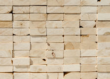 Stack of 2x4 studs Royalty Free Stock Photography