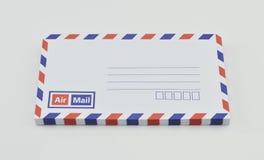 Stack of air mail envelopes Royalty Free Stock Photos