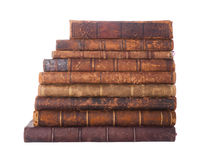 Stack Antique Books Royalty Free Stock Image