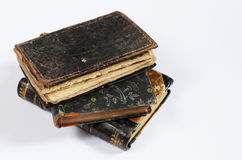 Stack of antique books Stock Image
