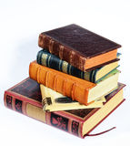Stack of antique books Royalty Free Stock Photos