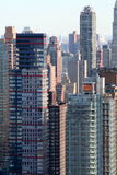 Stack of appartment buildings Royalty Free Stock Image