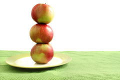 Stack of apples Stock Photography
