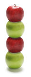 Stack of Apples Royalty Free Stock Images