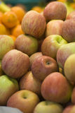 Apples at market Royalty Free Stock Photography