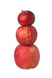 Stack of apples Stock Image