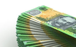 Stack of Australian Dollar Stock Photos