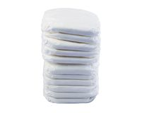 Stack of baby diapers Royalty Free Stock Images