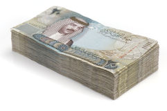 Stack of Bahrain Money Stock Images