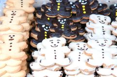 Baked cookies Stock Image
