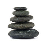 Stack of balanced zen stones Royalty Free Stock Photography