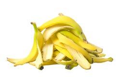 Stack of Banana skin Stock Images