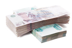 Stack of banknotes Stock Photography
